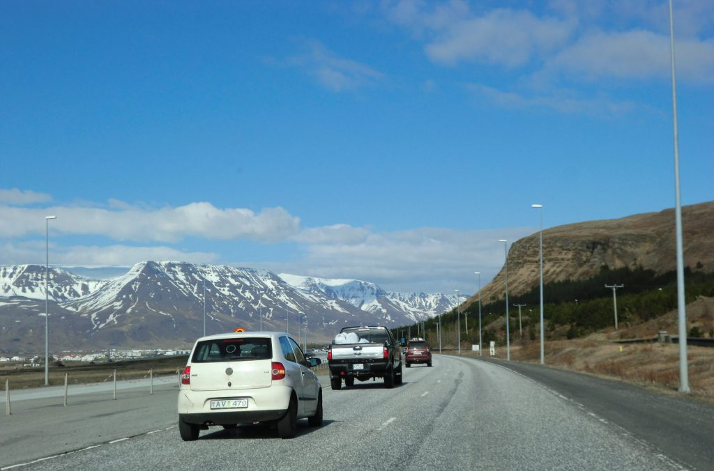 Road to Thingvellir